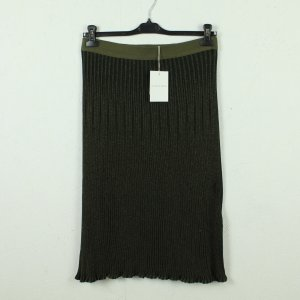 by Malene Birger Knitted Skirt green-dark green