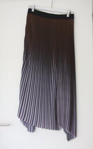 by Malene Birger Asymmetry Skirt brown-mauve