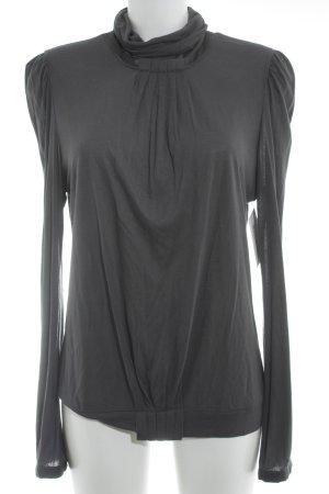 by Malene Birger Turtleneck Shirt slate-gray business style