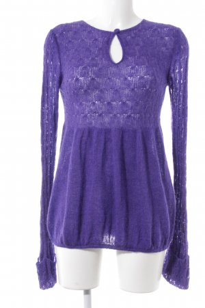 by Malene Birger Crewneck Sweater lilac classic style