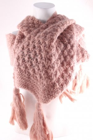 by Malene Birger Knitted Scarf dusky pink fluffy