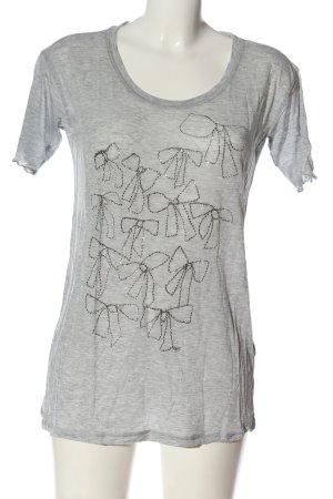 by Malene Birger T-Shirt hellgrau meliert Casual-Look