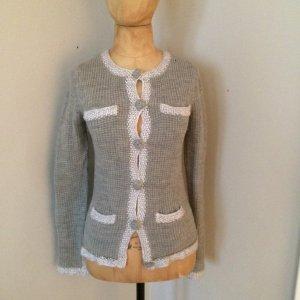 by Malene Birger Cardigan a maglia grossa grigio-grigio chiaro Lana