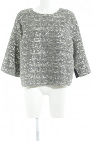 by Malene Birger Wollpullover abstrakter Druck Materialmix-Look