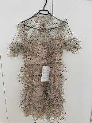 By Malina Letnia sukienka w kolorze różowego złota