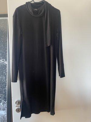 By Marlene Birger M L schwarz Kleid Midikleid
