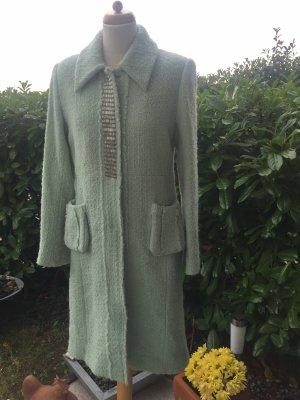 by Malene Birger Wool Coat sage green