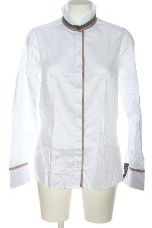 by Mi Hamburg Shirt met lange mouwen wit casual uitstraling