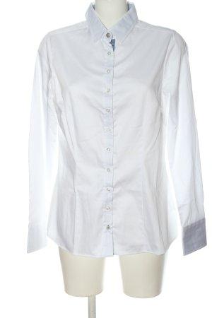 by Mi Hamburg Shirt met lange mouwen wit zakelijke stijl
