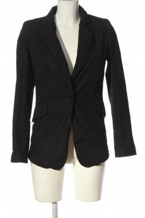 by second female Short Blazer black business style