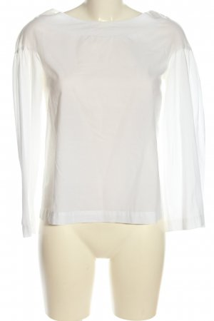 by Sophie Blouse met lange mouwen wit casual uitstraling