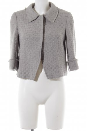by Ti Mo Short Blazer light grey casual look