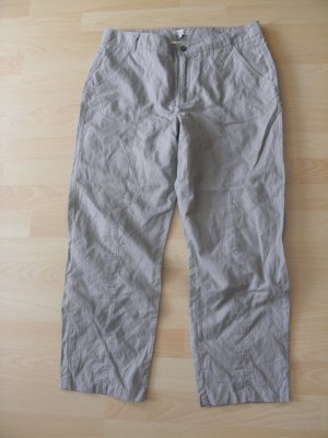 by Ti Mo 7/8 Length Trousers grey brown-sand brown