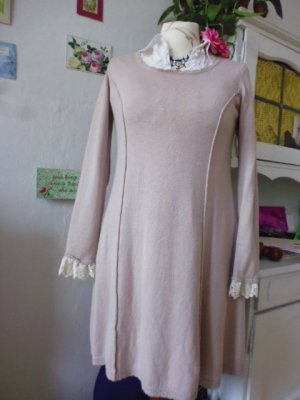 by Ti Mo Knitted Dress cream-oatmeal mixture fibre