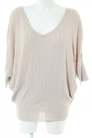 by Ti Mo V-Neck Shirt natural white casual look