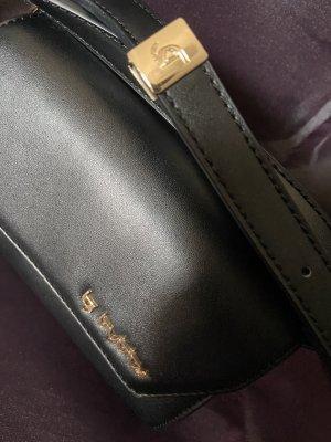 Byblos Gekruiste tas zwart-zandig bruin