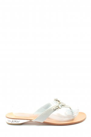 Byblos Dianette Sandals white-silver-colored casual look