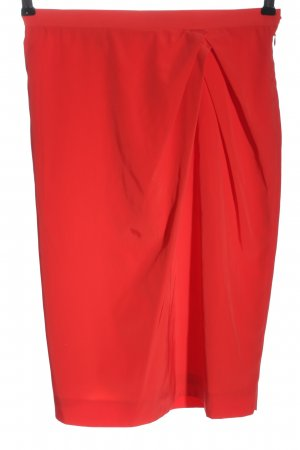 Byblos High Waist Skirt red casual look