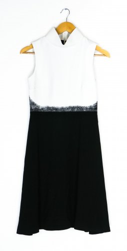 Byblos A Line Dress white-black