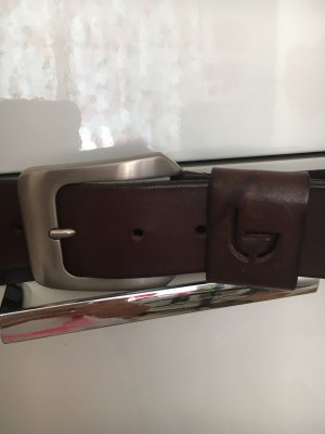 Byblos Leather Belt dark brown