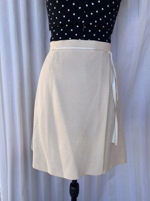 Byblos Mini-jupe crème laine