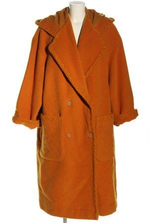 Byblos Wollen jas licht Oranje casual uitstraling