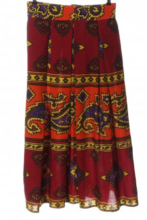 Byblos Wollen rok abstract patroon casual uitstraling