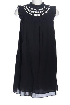 Bysi A-Linien Kleid schwarz Elegant