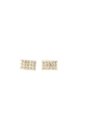 BZ Silver Earrings gold-colored elegant