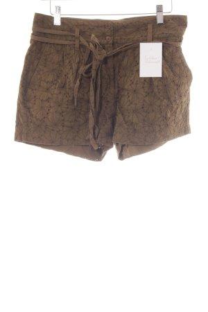 bzr Hot Pants khaki Casual-Look
