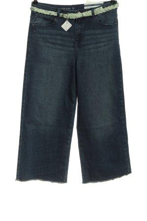 C&A Jeans 3/4 bleu style décontracté