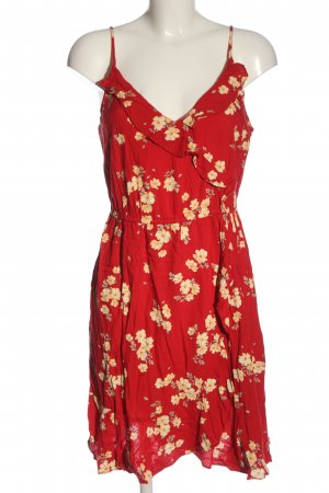C&A Vestido línea A estampado floral look casual