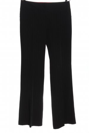 C&A Suit Trouser black striped pattern business style