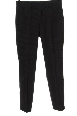 C&A Pantalón de vestir negro-blanco estampado repetido sobre toda la superficie