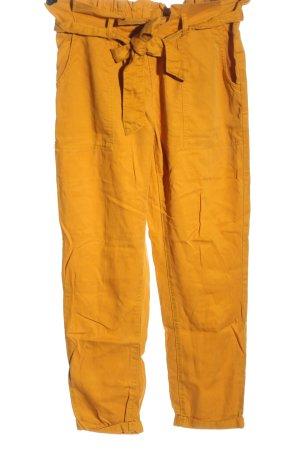 C&A Pantalón abombado naranja claro look casual