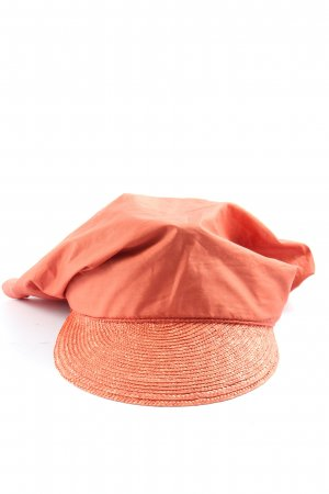 C&A Baker's Boy Cap light orange casual look