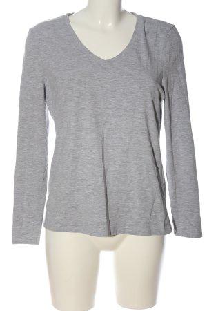 C&A Basics Longsleeve light grey flecked casual look