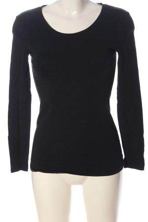 C&A Basics Koszulka z długim rękawem czarny W stylu casual