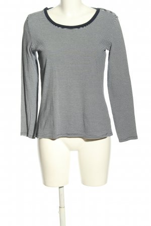 C&A Basics Longsleeve blue-white allover print casual look