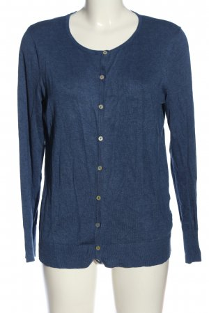 C&A Basics Knitted Cardigan blue flecked casual look