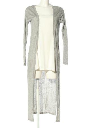 C&A Basics Cardigan light grey flecked casual look