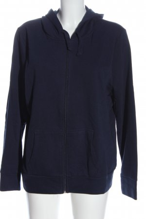 C&A Basics Sweat Jacket blue cable stitch casual look