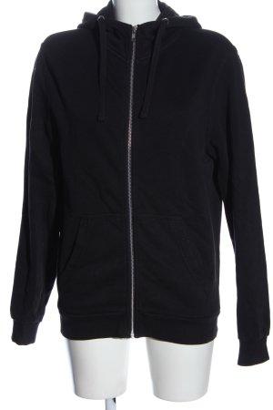 C&A Basics Sweat Jacket black casual look