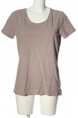 C&A Basics T-Shirt brown flecked casual look
