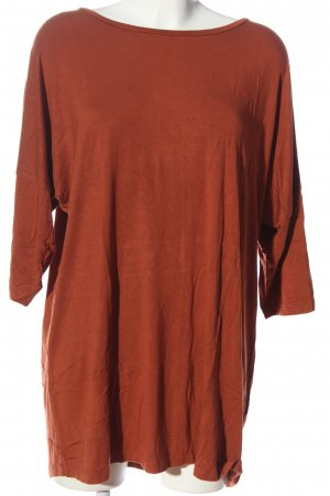 C&A Basics Boatneck Shirt light orange casual look
