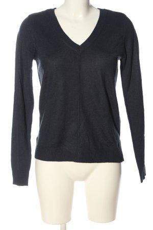 C&A Basics V-Neck Sweater black casual look