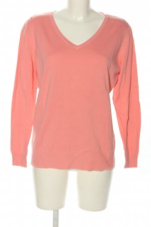 C&A Basics V-Neck Sweater pink casual look