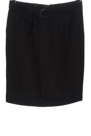 C&A Ołówkowa spódnica czarny W stylu biznesowym