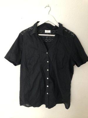 C&A Bluse schwarz 46