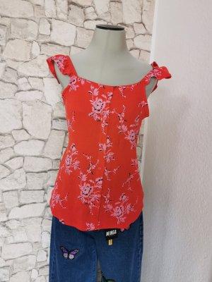 C&A Top koszulowy czerwony